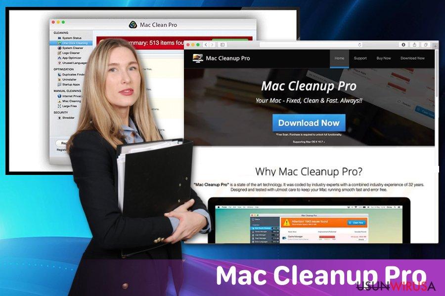 Niepożądana aplikacja Mac Cleanup Pro