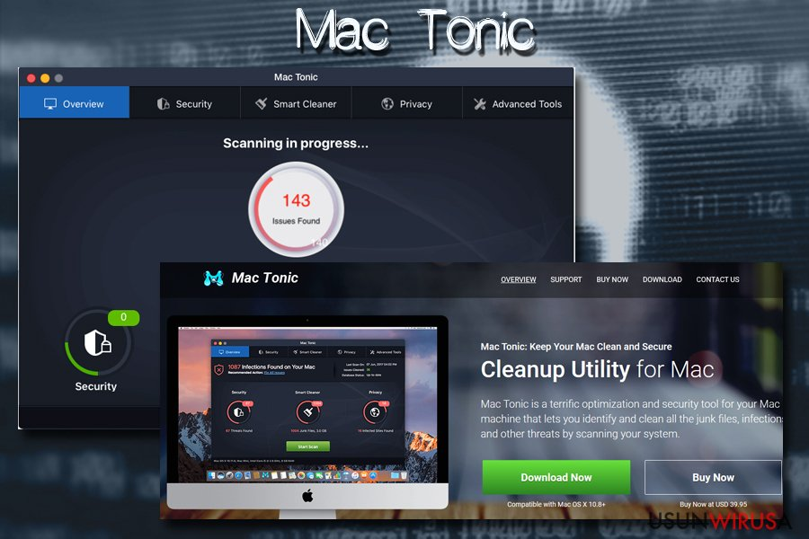 Wirus Mac - Mac Tonic