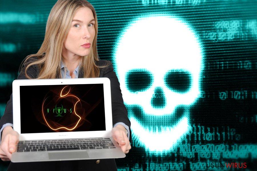 Eliminacja wirusa Mac