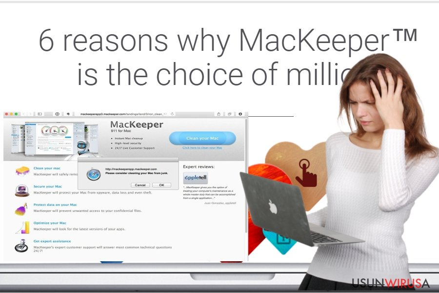 Wirus MacKeeper