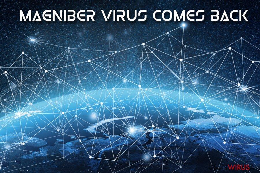 Wirus ransomware Magniber snapshot