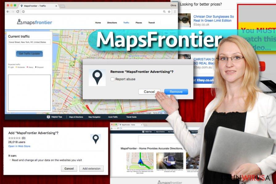 Reklamy Maps Frontier