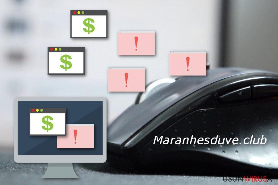 Maranhesduve.club przekierowanie okienka