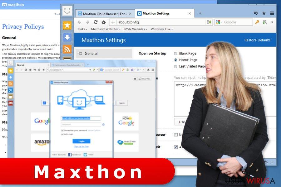 Maxthon Browser virus