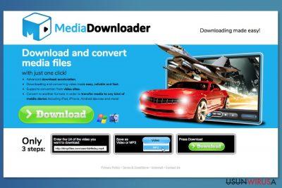 Oficjalna strona pobierania Media Downloadera