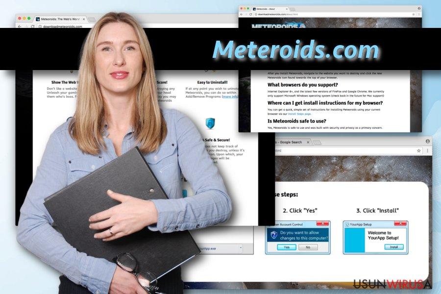Wirus Meteoroids snapshot