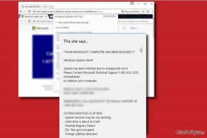 Wirus Microsoft Critical Alert