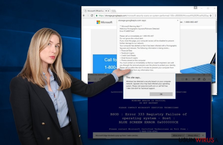 Wirus Microsoft