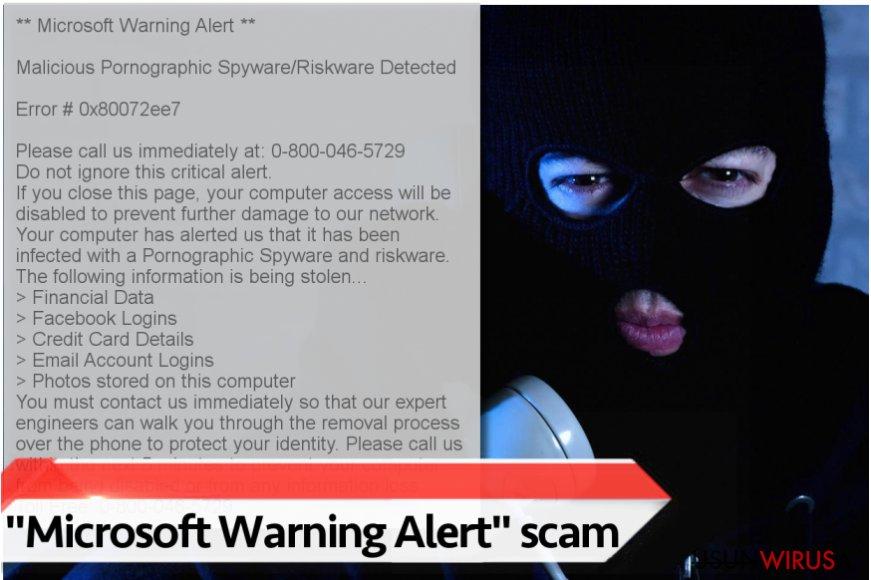 Wirus ''Microsoft Warning Alert''