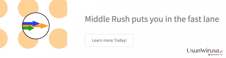 Middle Rush ads
