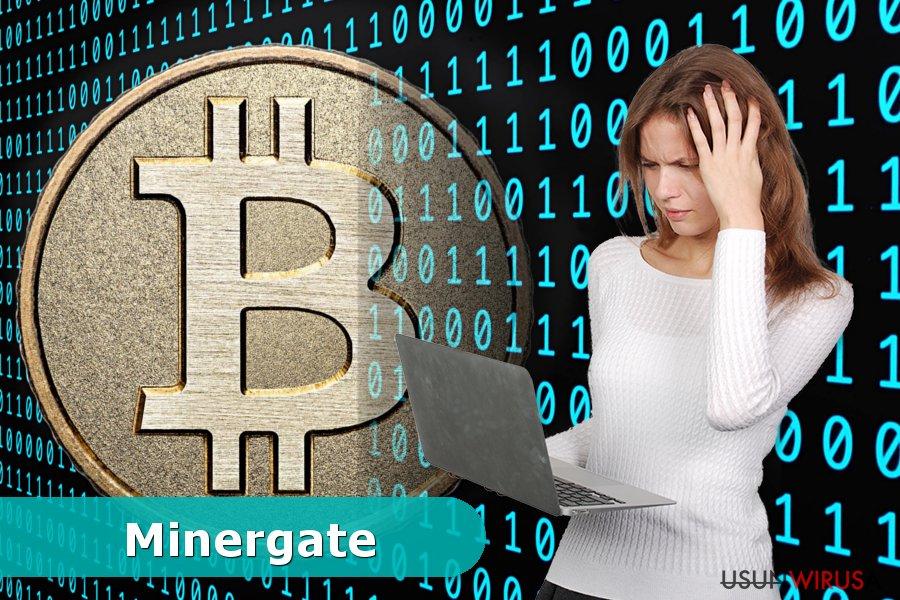 Przykład wirusa Minergate