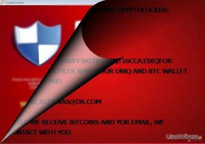 czy MNS Cryptolocker jest powiązany z CryptoLocker?