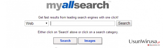 MyAllSearch snapshot