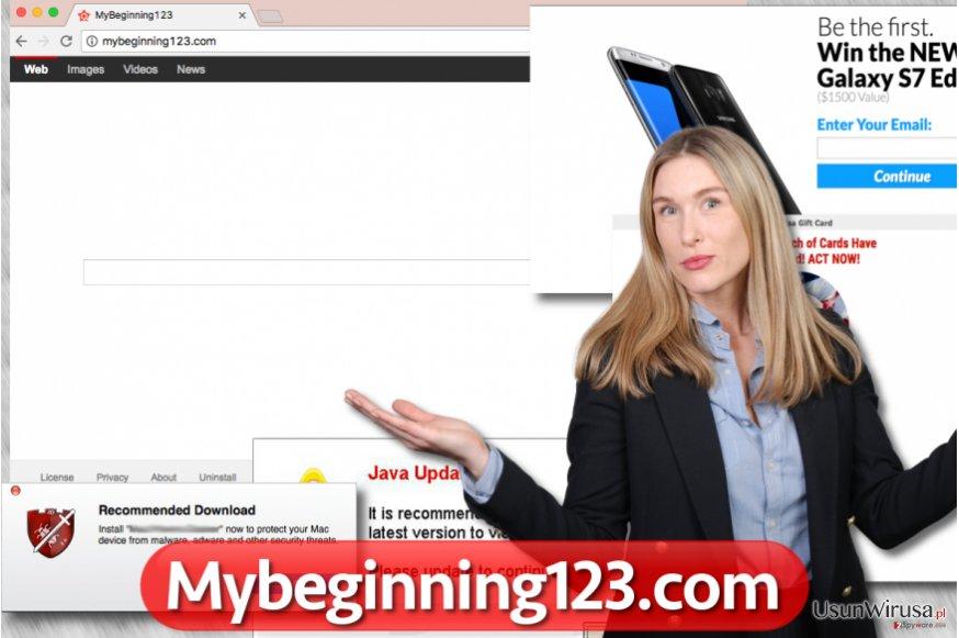 Robak przegladarkowy Mybeginning123.com