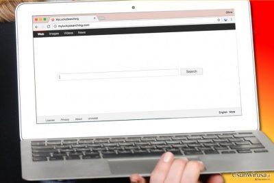 Wirus MyLuckySearching.com na moim komputerze
