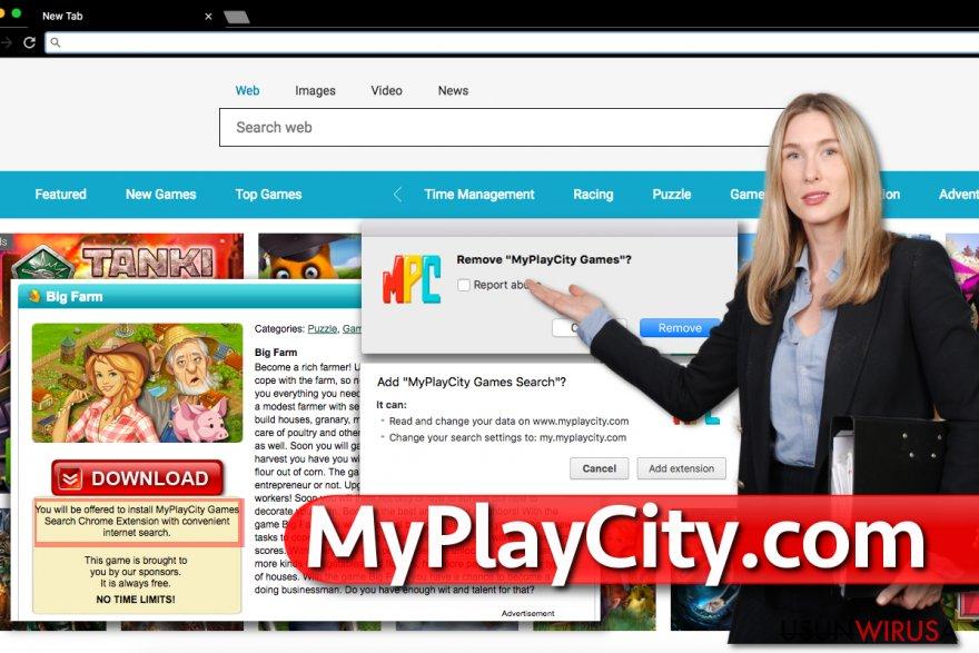 MyPlayCity.com snapshot