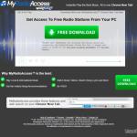 MyRadioAccess Toolbar snapshot