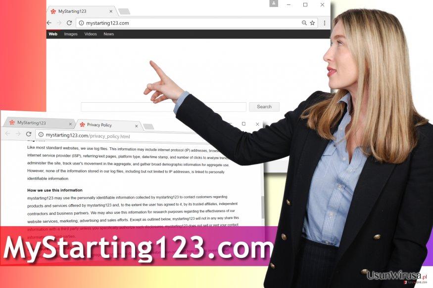 Wirus MyStarting123.com