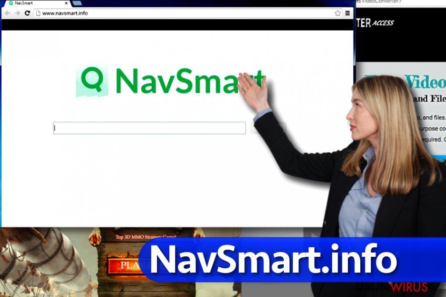 Wirus NavSmart.info snapshot