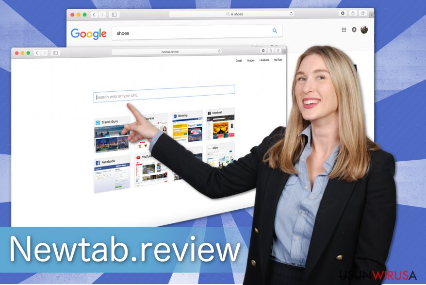 Ilustracja przedstawiająca Newtab.review