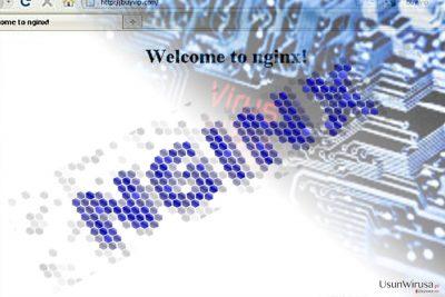 Obrazek przedstawiający malware Nginx