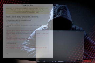 Obrazek ransomware'a NMCRYPT