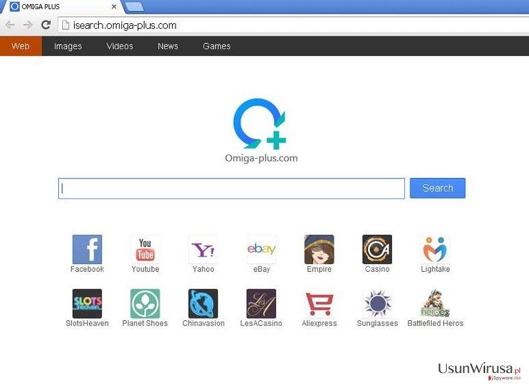 Omiga-plus.com snapshot