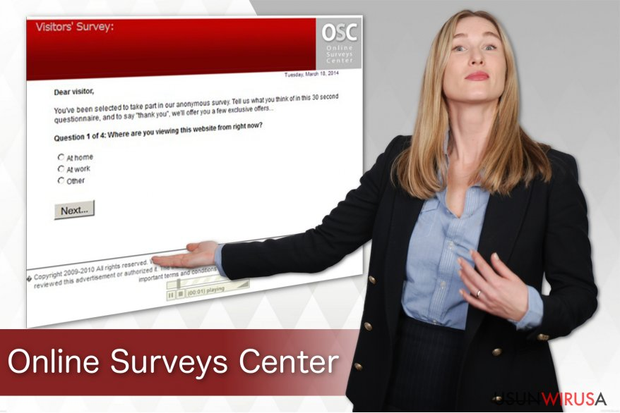 Wirus Online Surveys Center snapshot