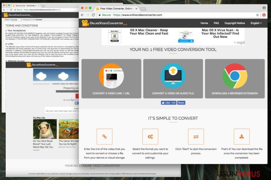 Prezentacja programu Online Video Converter