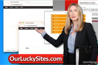 Wirus Ourluckysites.com