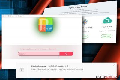 Maware Panda Viewer jest wykorzystywany do promowania partnerów