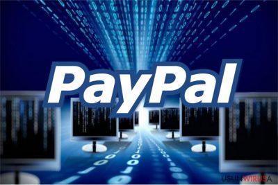 Obrazek wirusa Paypal