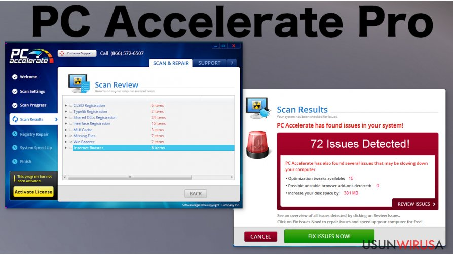 PC Accelerate Pro snapshot