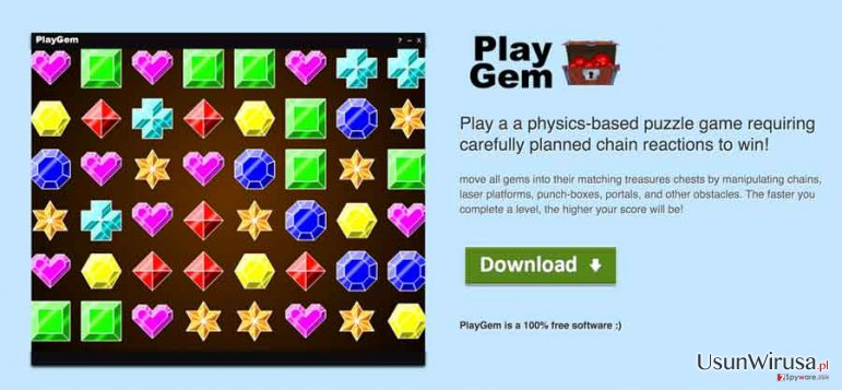 Reklamy PlayGEM snapshot