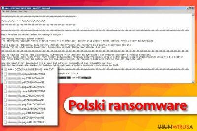 Polski ransomware 2017