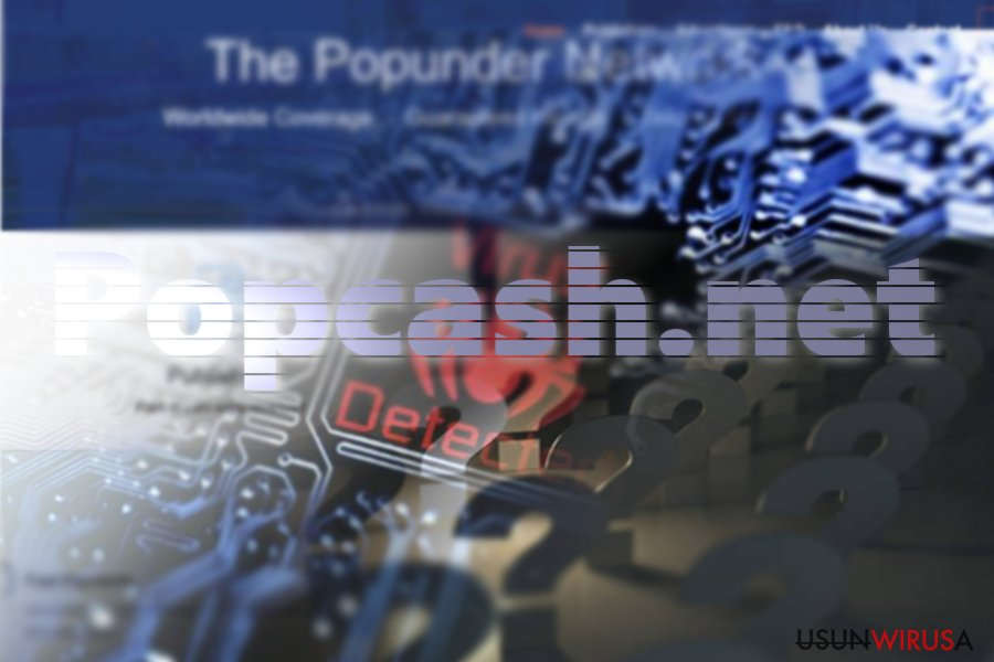 Popcash.net pop-up virus