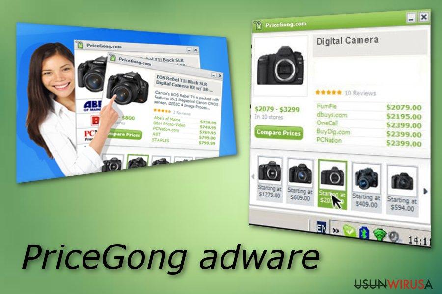 PriceGong snapshot