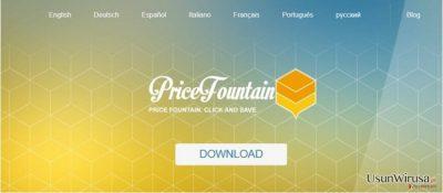 PriceFountain virus
