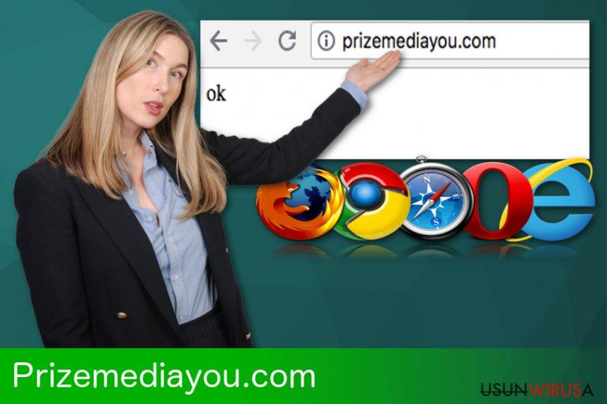 Przekierowanie Prizemediayou.com