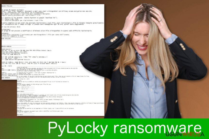 Ransomware PyLocky