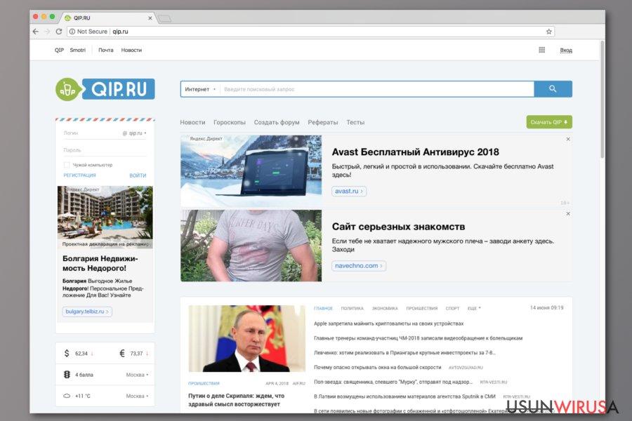 Wirus Qip.ru