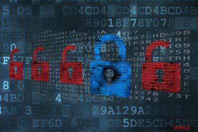 Przykład ransomware'a Ransomed@india