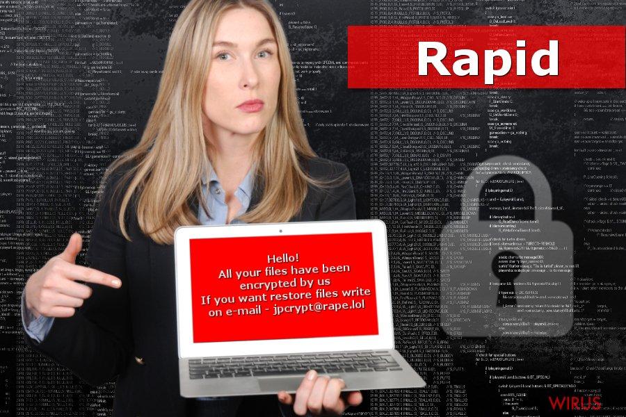 Przedstawienie ransomware'a Rapid