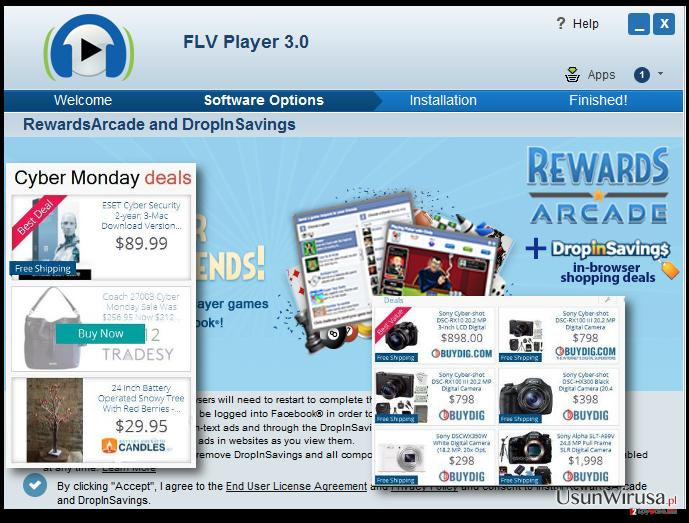 Displaying RewardsArcade ads