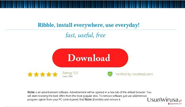 Ads by Ribble snapshot