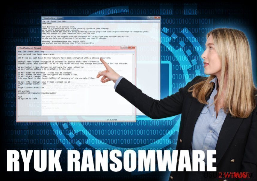 Ryuk Ransomware virus