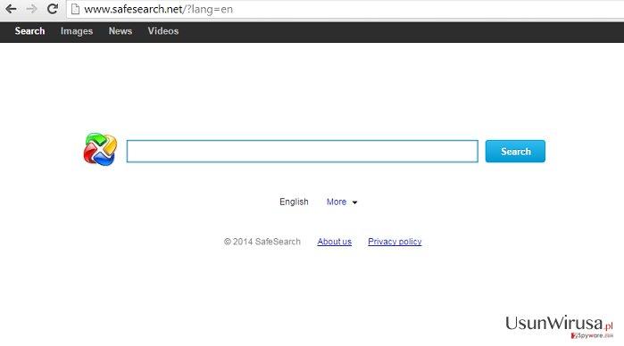 Przekierowania SafeSearch.net redirect snapshot
