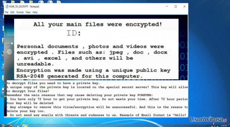 The threat of SamSam ransomware