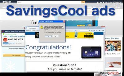 Prezentacja reklam SavingsCool