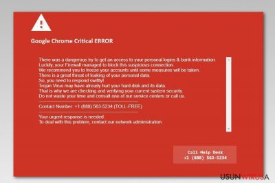 Prezentacja Błędu Krytycznego Google Chrome